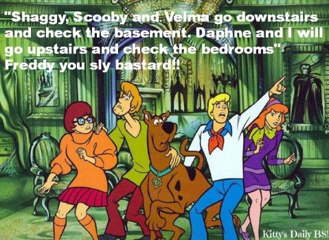 Freddy Getting Fresh On Scooby Doo!